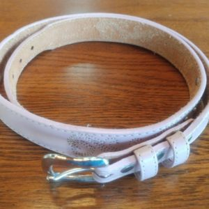 ladies-sz-32-58523-light-pink-genuine-leather-belt-leegin