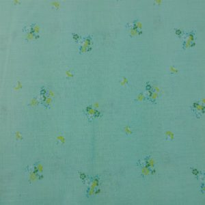 light-green-vintage-yellow-floral-fabric-4-yards