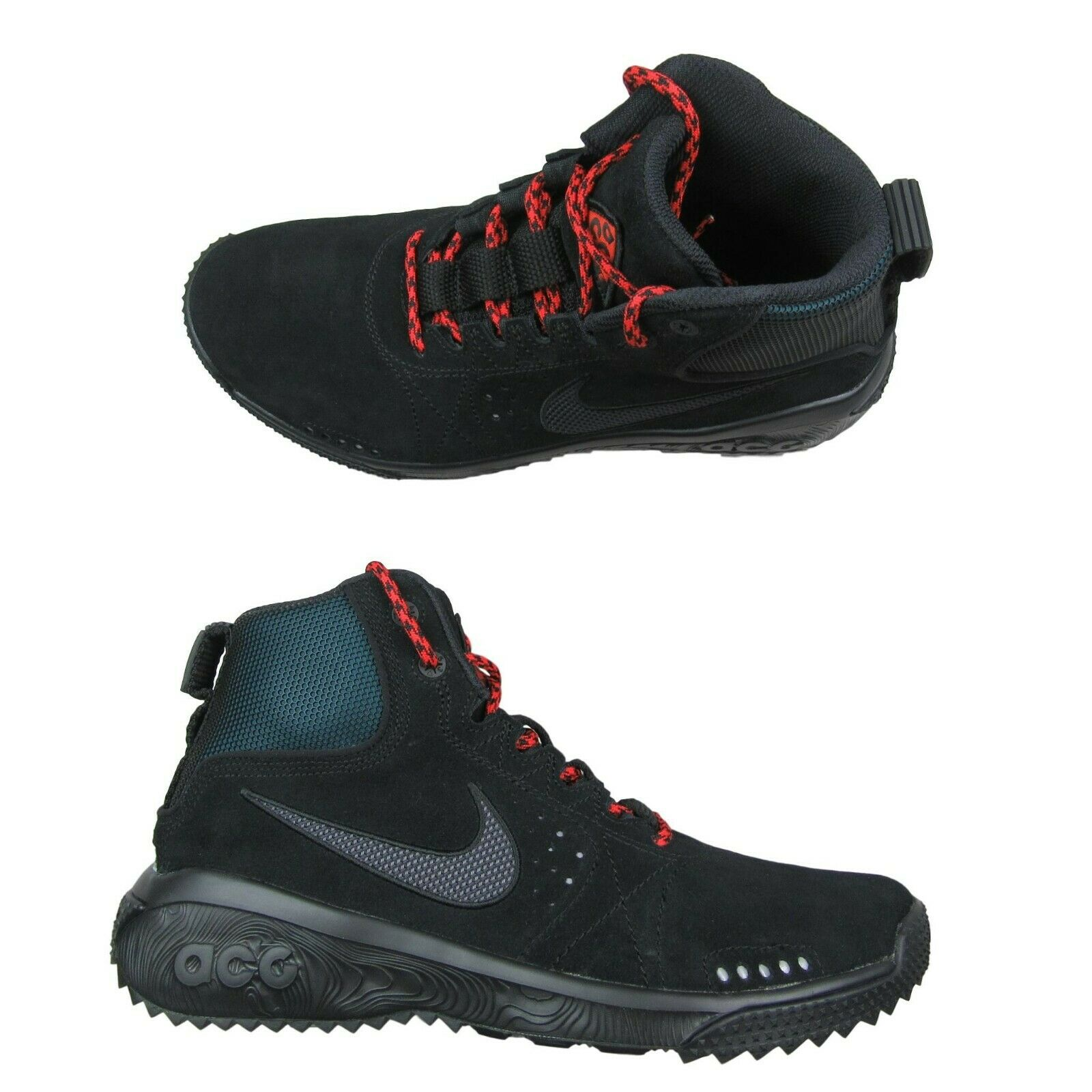 promo code 74414 eb990 ... Size 10 Mens AQ0917-001 New. 🔍. nike-acg-angels-rest-outdoor-hiking- boots-black-