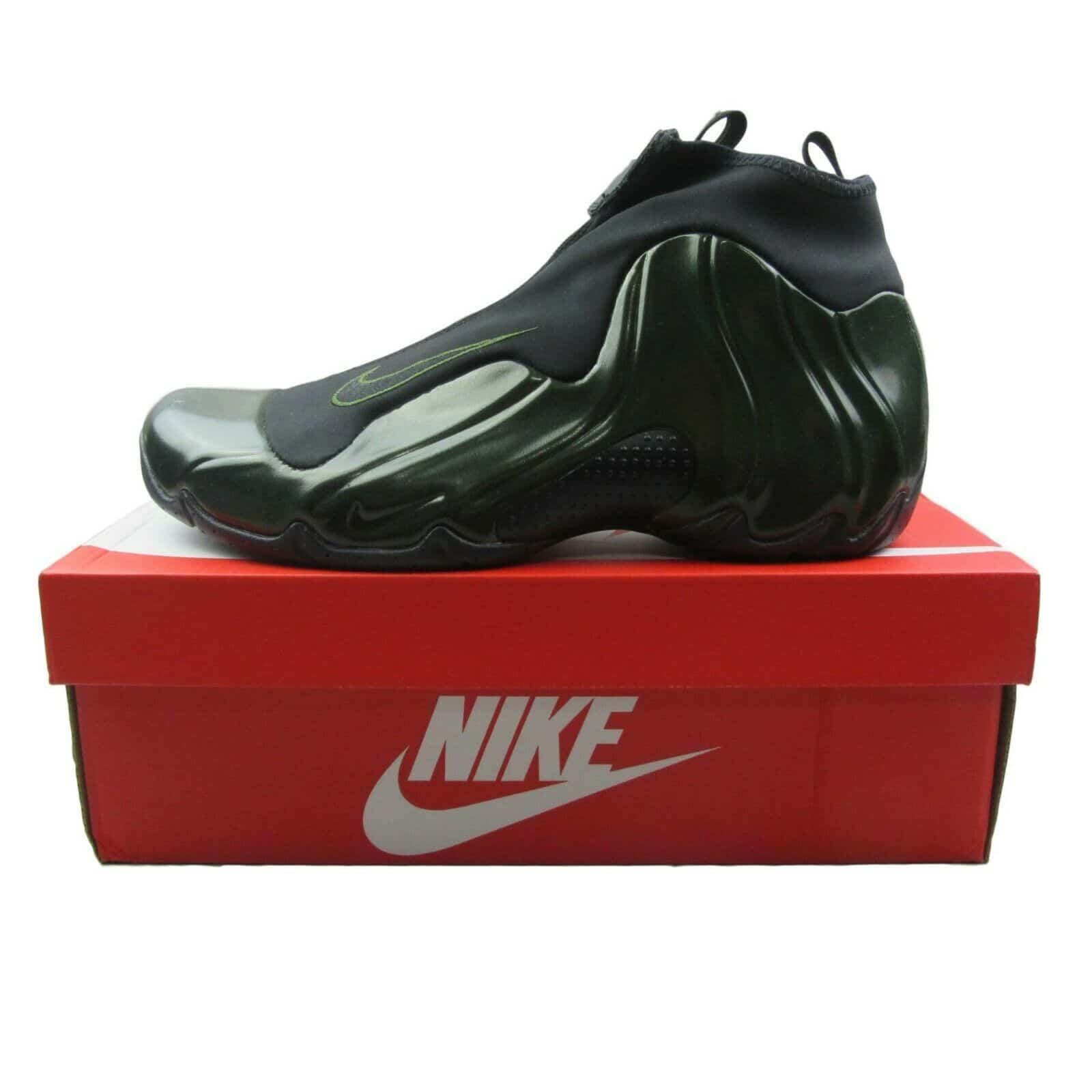 81edd6122dce Nike Air Flightposite Legion Green 2018 Basketball Shoes AO9378 300 ...