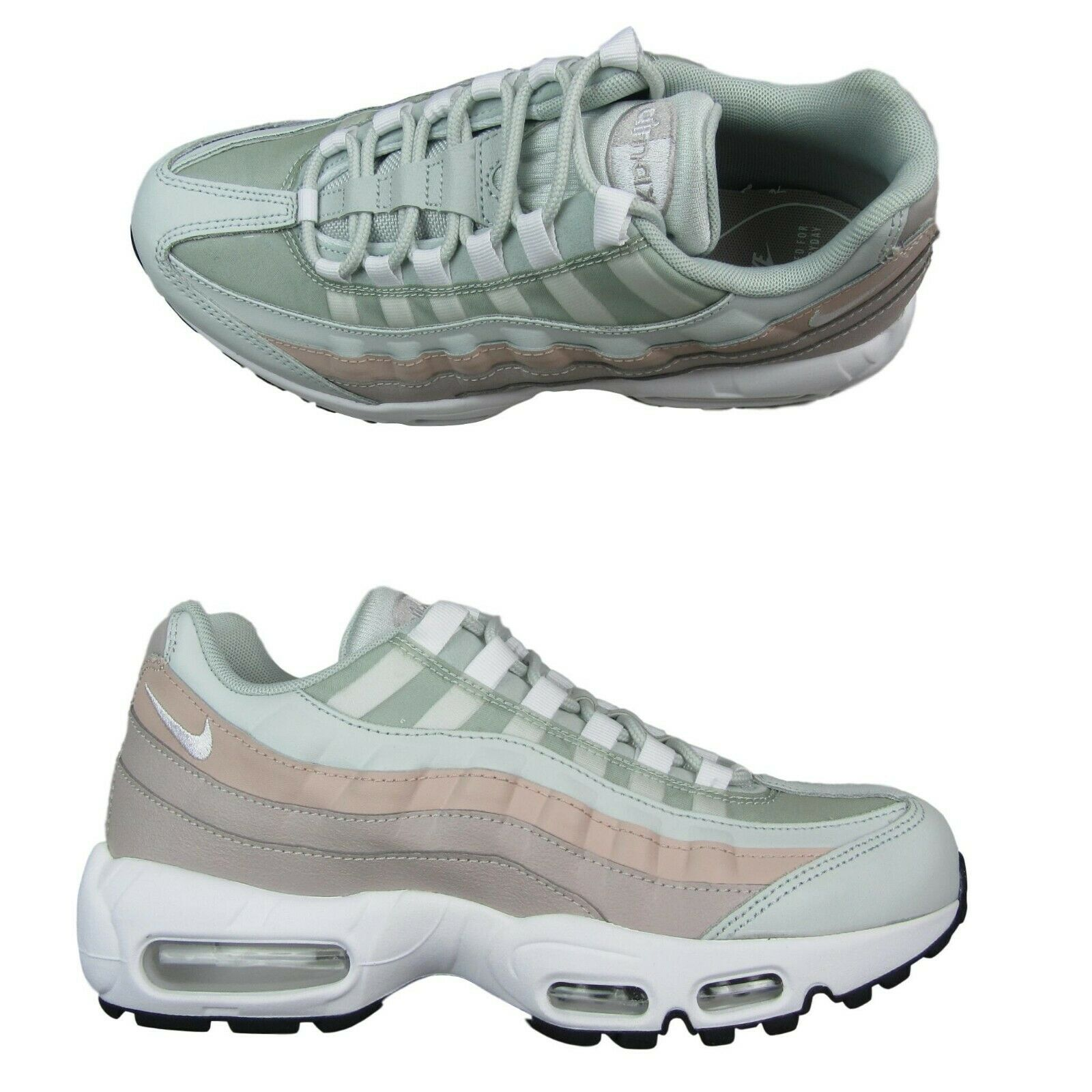 "52fb6b8b6d Nike Air Max 95 ""Moon Particle"" Womens Size 9 Running Shoes 307960 018"