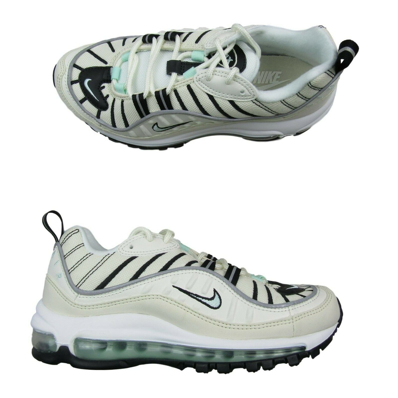 super popular 0d640 f6b07 Nike Air Max 98 Womens Running Shoes Size 7 Sail Tan Igloo Black New ...