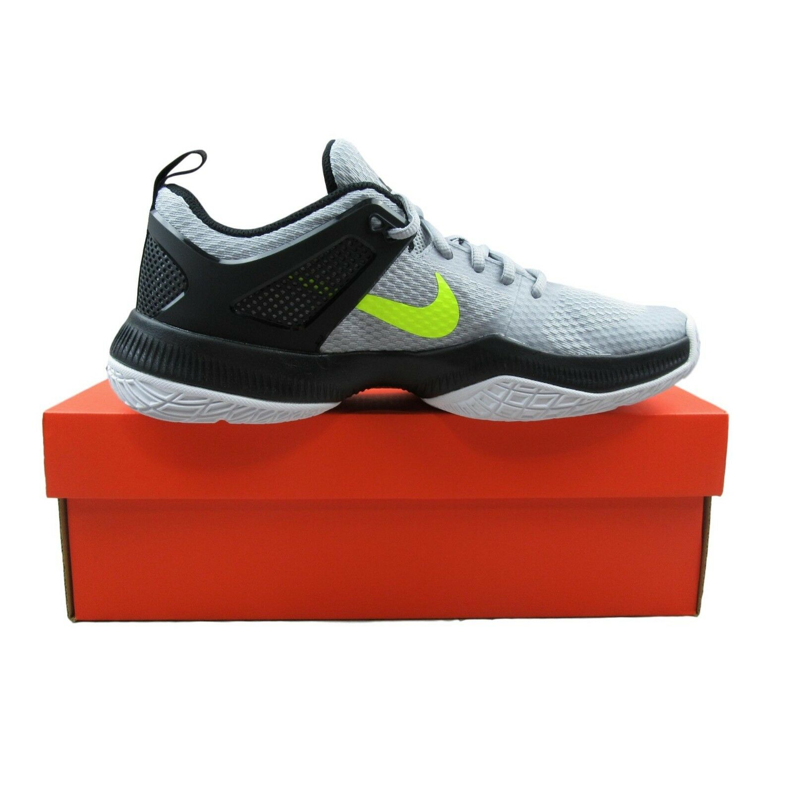 official photos 1ad56 8320a nike-air-zoom-hyperace-womens-volleyball-shoes-gray-
