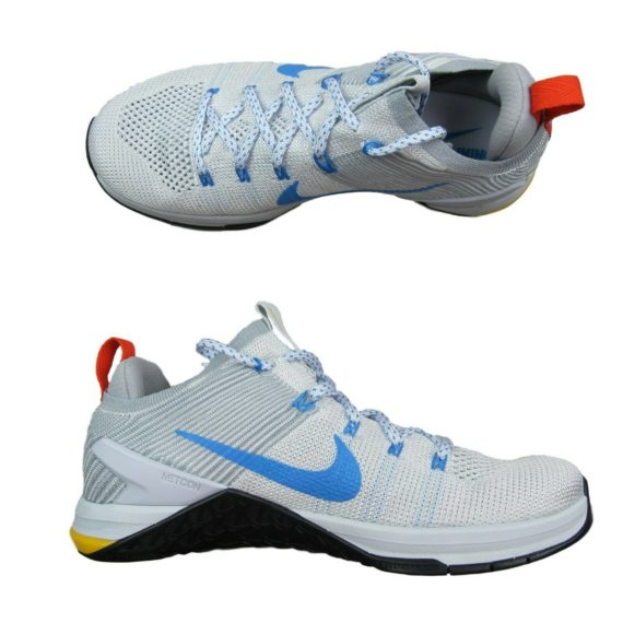 nike-metcon-dsx-flyknit-training-shoes-mens-size-9-blue-platinum-new-924423-140