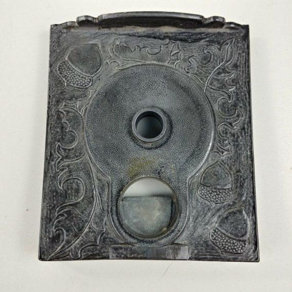 oak-a-12-gumball-machine-coin-mechanism-quarter-replacement-face-plate-01