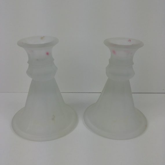 pair-of-frosted-clear-glass-candlesticks-candle-holders-5-tall