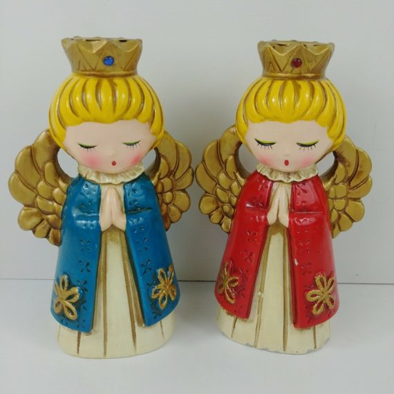 pair-of-vintage-angel-praying-candle-stick-holders-red-blue-gold-ardco