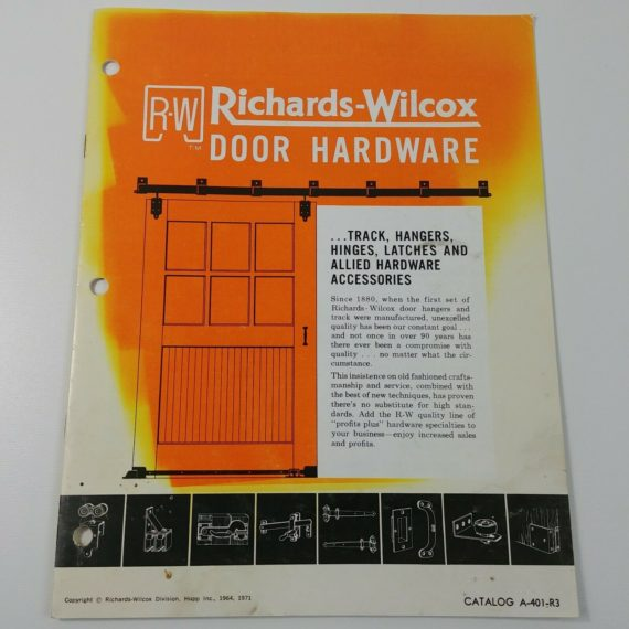 richards-wilcox-door-hardware-1971-catalog-track-hangers-hinges-latches-vintage