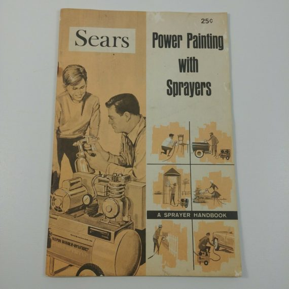 sears-power-painting-with-sprayers-handbook-vintage-pamphlet-booklet
