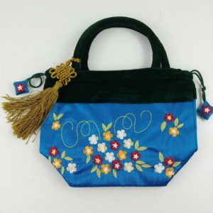 silk-handbag-embroidered-asian-retro-purse-blue-floral-flower-rockabilly
