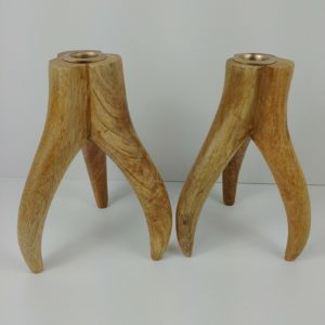 stylish-hardwood-wood-antler-candlesticks-7-1-4-tall-x-4-1-2-wide