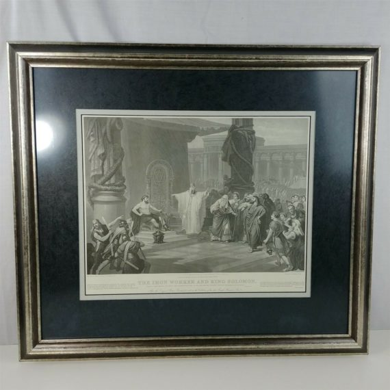 the-iron-worker-and-king-solomon-framed-art-print-by-prof-c-schussele-1864