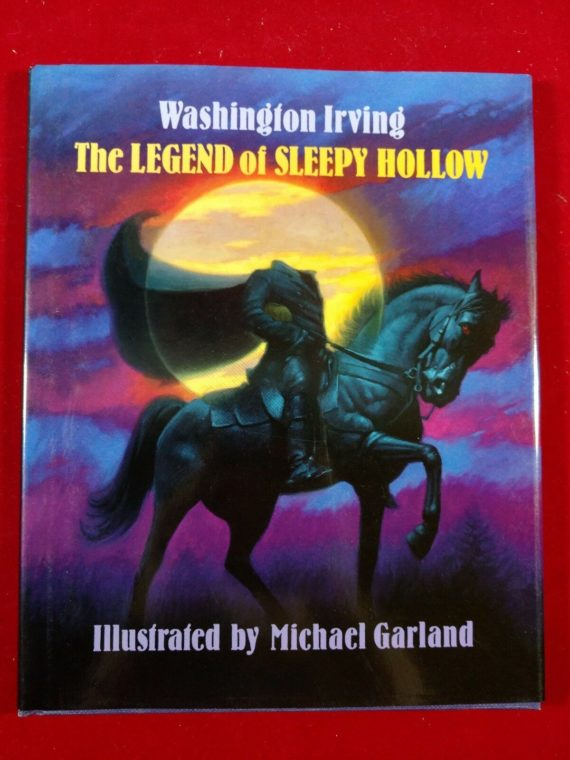 the-legend-of-sleepy-hollow-by-washington-irving-hardcover-w-dj-1992-1st-ed