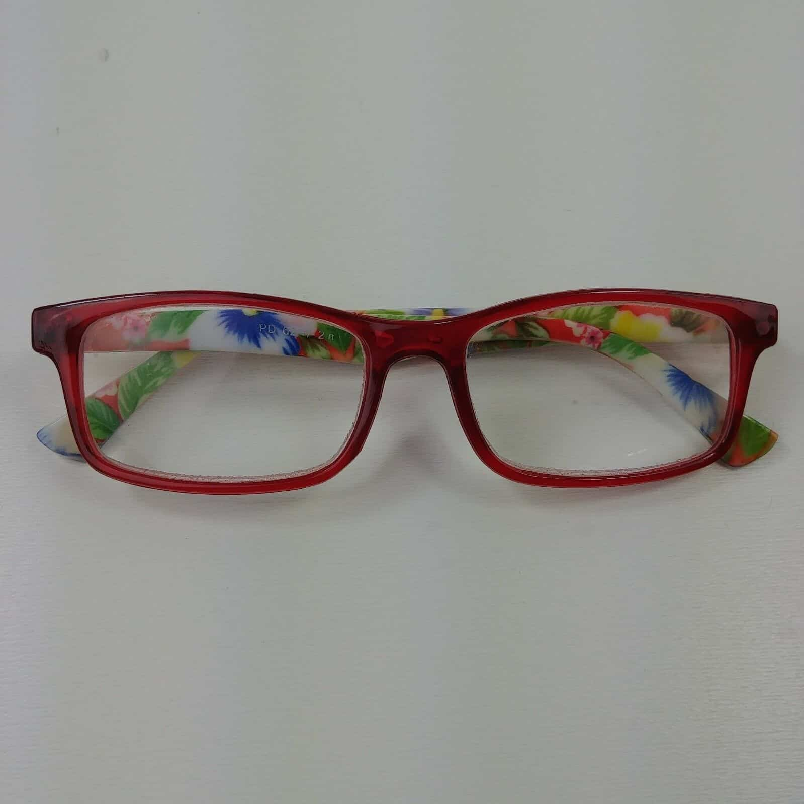 ca21b07503be Tropical Floral Reading Glasses PD 62 +/- 2 n #1