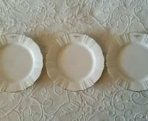 ungaro-paris-maebata-3-bread-butter-replacement-plates-rare
