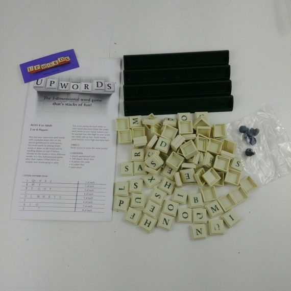 upwards-board-game-replacement-parts-pieces-parker-brothers-lot-1