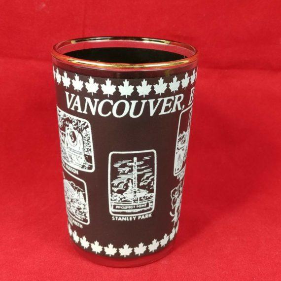 vancouver-bc-canada-souvenir-short-cup-3-1-2-glass-vintage-black-gassy-jack