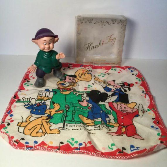vintage-hanki-joy-disney-handkerchief-dopey-action-figure-by-rosalyn-barton