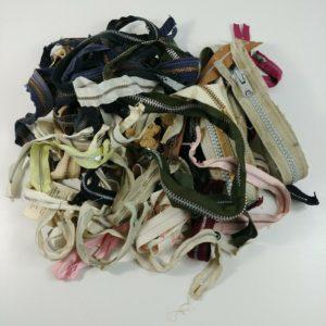 vintage-zipper-lot-talon-misc-colors-lengths-sizes-nylon-aluminum-brass-lot-1