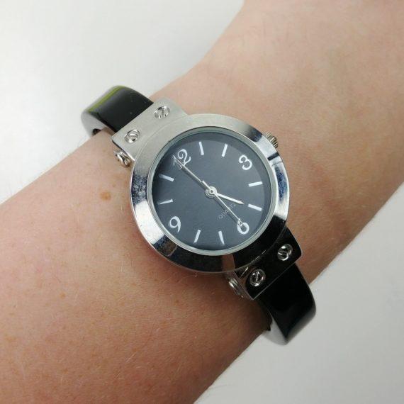 women-bangle-cuff-watch-quartz-black-vintage-gen1646g-lot-08