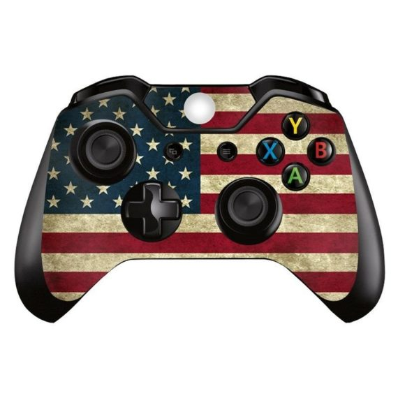xbox-one-xb1-usa-flag-america-1-controller-decal-vinyl-cover-skin-wrap-sticker