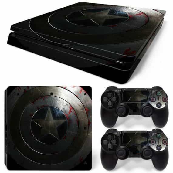 america-star-ps-slim-console-controllers-decal-vinyl-art-skin-wrap-sticker