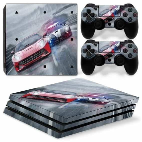 car-racing-sony-ps-pro-console-controllers-decal-vinyl-skin-wrap-sticker