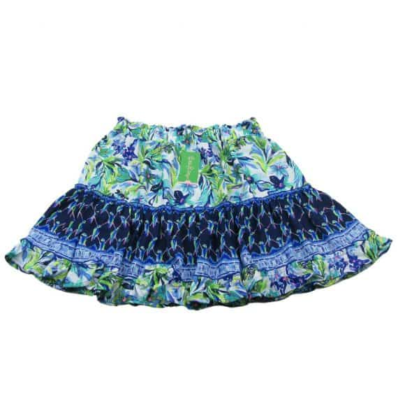 lilly-pulitzer-raya-ruffle-skirt-floral-size-large-blue-green-multi-new