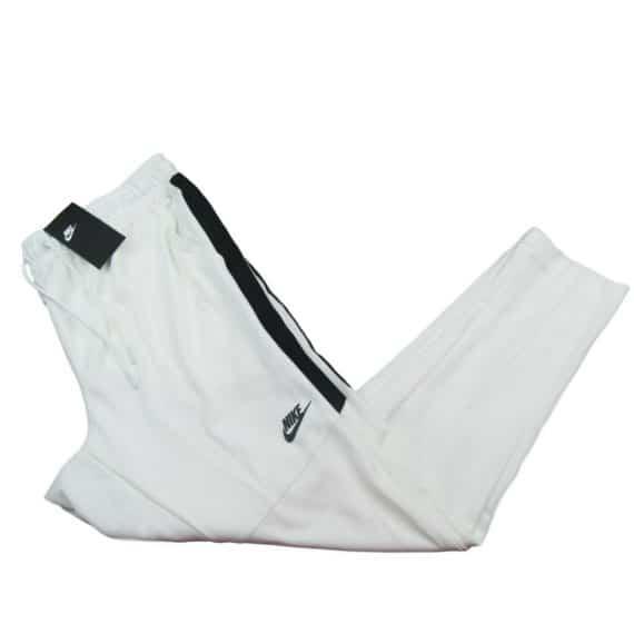 nike-tribute-mens-joggers-slim-fit-pants-size-xl-white-taper-leg