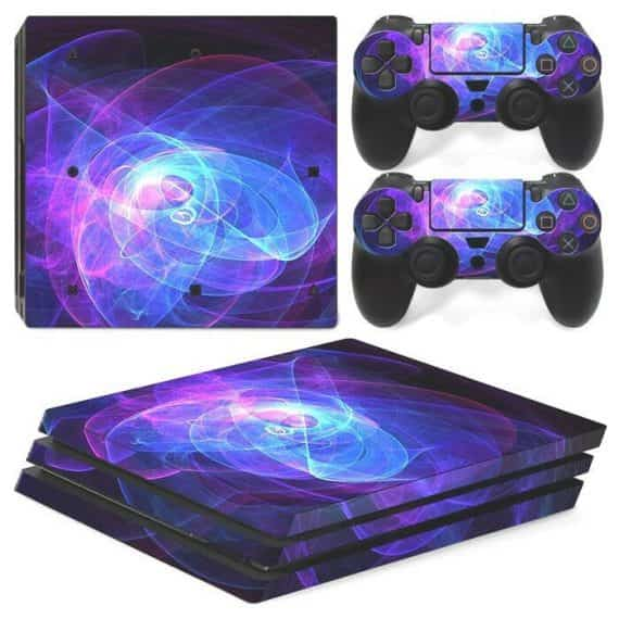 ps-pro-console-controllers-cool-purple-swirl-vinyl-skin-wrap-decal