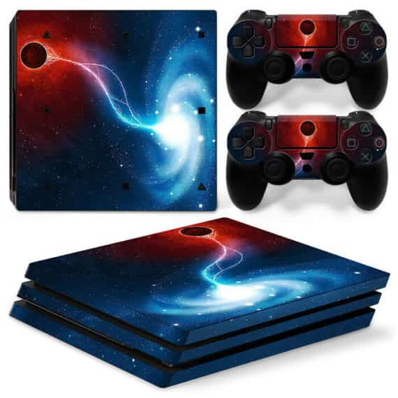 sony-ps-pro-space-galaxy-console-controllers-decal-vinyl-skin-art-wrap