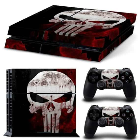 sony-ps-punisher-st-console-controllers-decal-vinyl-cover-skin-sticker