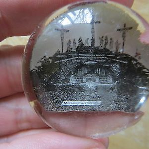 antique-glass-paperweightmoresnet-calvaire-dome-shaped-religious-jesus-on-cross