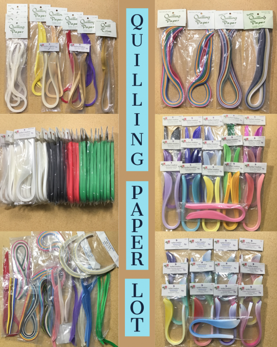 mixed-lot-of-quilling-paper-strips-new-opened