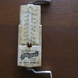 scarce-geo-walters-adler-brau-beer-appleton-wis-advertising-working-thermometer