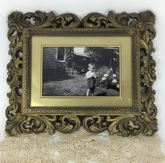 vintage-picture-frame-s-ornate-carved-french-style-faux-aged-brass-finish