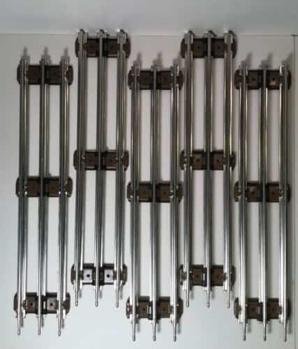 pack-k-line-o-brown-tie-tubular-metal-track-w-pins-totals