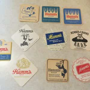 vintage-hamms-beer-coasters-some-rare-hamms-bearsky-blue-waters