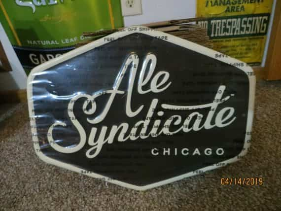 ale-syndicatechicago-embossed-brewing-co-brewery-original-sign