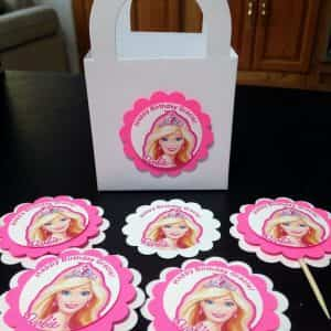 barbie-custom-cupcake-toppers-goody-bags-stickers-personalized