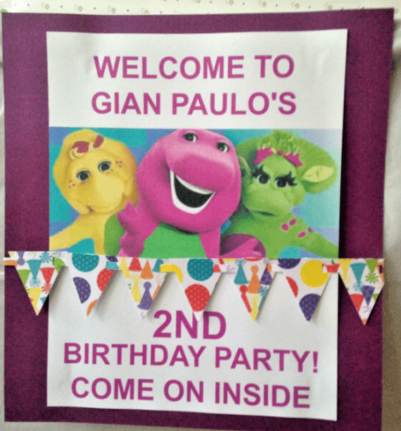 barney-and-friends-birthday-party-custom-door-sign