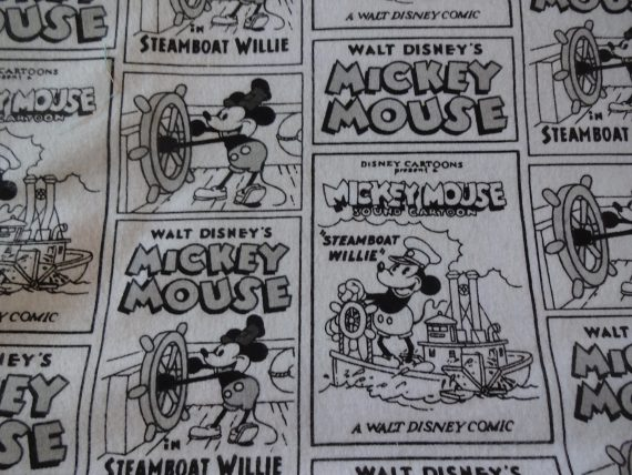cool-mickey-mouse-on-steamboat-wllie-comic-strip-handmade-cotton-flannel-pillowcase