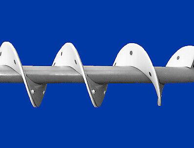 """John Deere 9570 Auger Wearshoes tank fill – 10"""", 2 1/2"""", 9 1/2"""", RH (Per pitch)"""