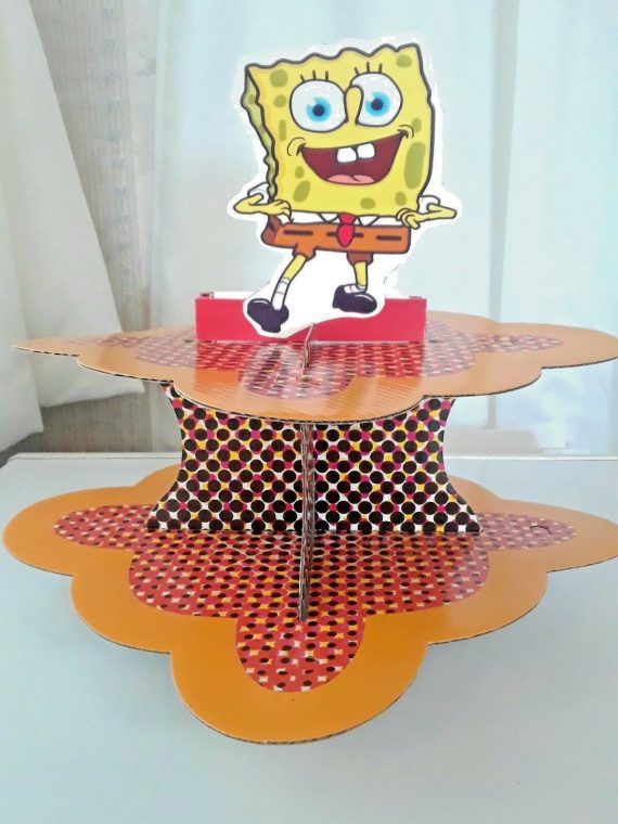 spongebob-square-pants-party-supplies-cupcake-stand-birthday-baby-shower-decor