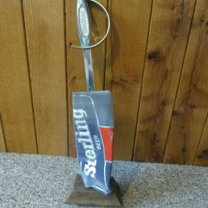 sterling-beer-sword-on-faux-wood-foam-back-bar-advertising-sign-display
