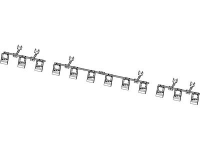 12 Row Folding Head – Case IH 2600/4200/4400 G4 Stalk Stomper Kit W/O Toolbar
