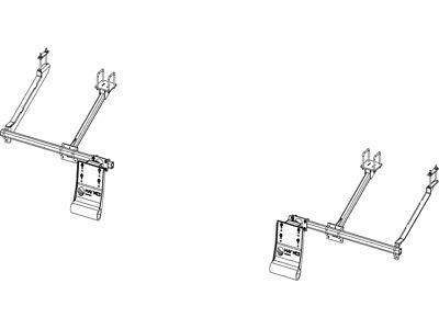 2 Row–NEW HOLLAND 98D/996 -8 & 12 ROW HEAD G4 Stalk Stomper KIT W/ TOOLBAR
