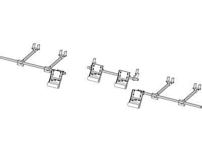 4 ROW–NEW HOLLAND 98D/996 SERIES–8 & 12 ROW HEAD G4 STALK STOMPER KIT w TOOLBAR