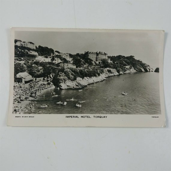 real-picture-postcard-wilson-gould-imperial-hotel-torquay-photo-professional