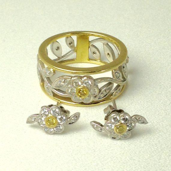 simon-g-k-garden-flower-collection-ring-custom-earrings-set
